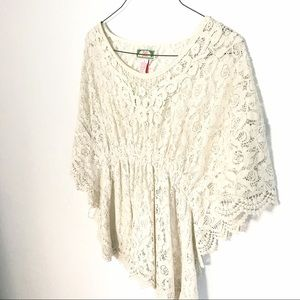 Flying Tomato Tops - Flying Tomato Lace Blouse